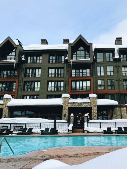 Ritz Carlton Lake Tahoe Swimming Pool