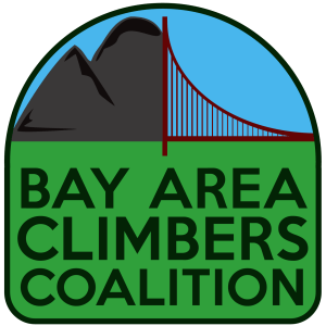 Bay Area Climbers Coalition logo in color