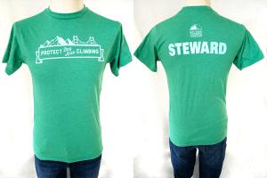 "Mens ""Steward"" in Green"