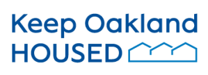 Keep Oakland Housed logo
