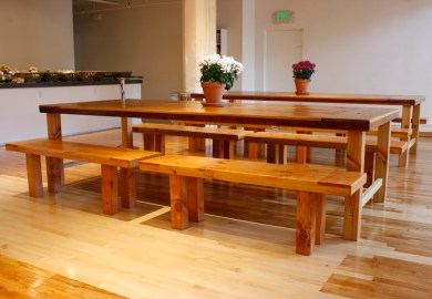 Dining Table Benches Wood