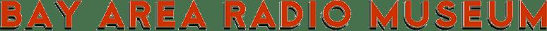 Bay Area Radio Museum Logo Standard