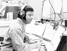Dr. Don Rose at WFIL (1971 Photo)