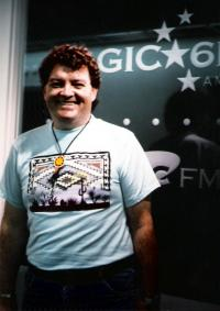 John Mack Flanagan at KFRC-FM (Photo)