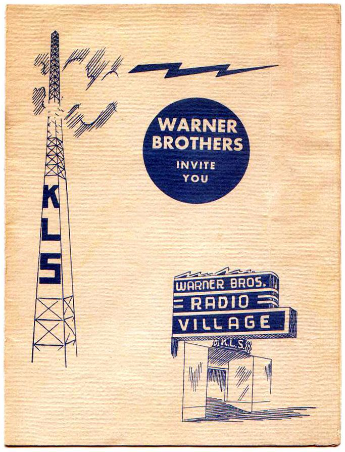 KLS Warner Bros Brochure (Image)