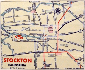 Map of Stockton (Image)