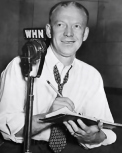 Red Barber (WHN Radio Photo)