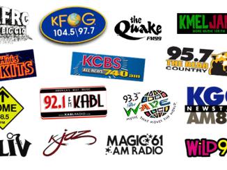 Bay Area Radio Collage (Image)