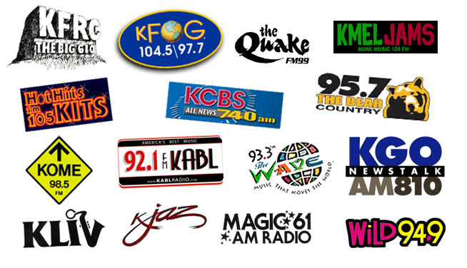 Bay Area Radio Collage (Image)
