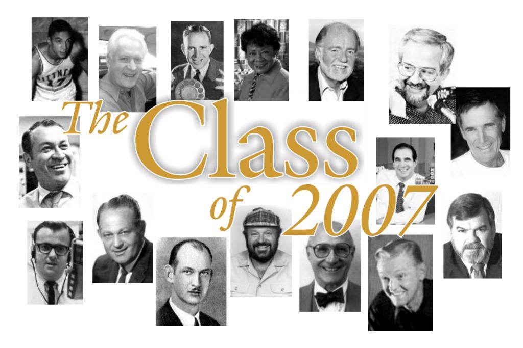BARHOF Class of 2007 (Image)