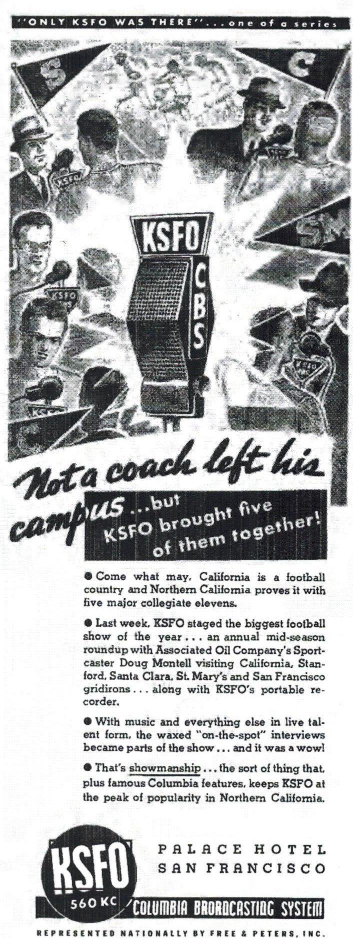 KSFO  1939 Doug Montell