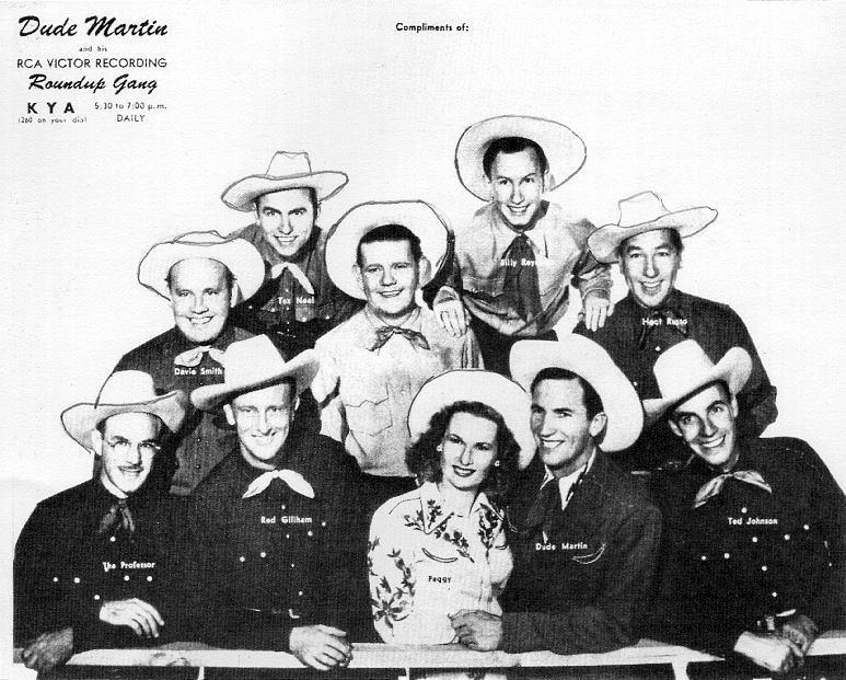 Dude Martin's Roundup Gang (Photo)