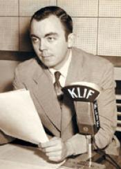 Gordon McLendon (KLIF Photo)