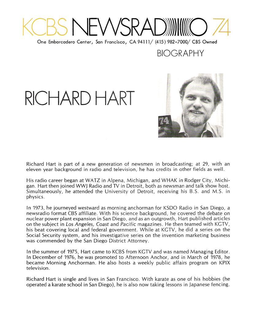 Richard Hart (KCBS Image)