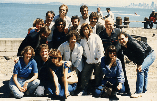 KFRC Air Staff (1986 Photo)