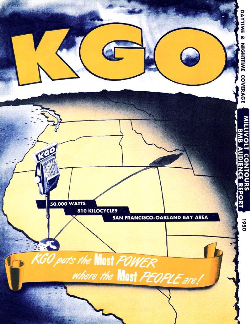 Image of KGO Radio (San Francisco) Sales Brochure