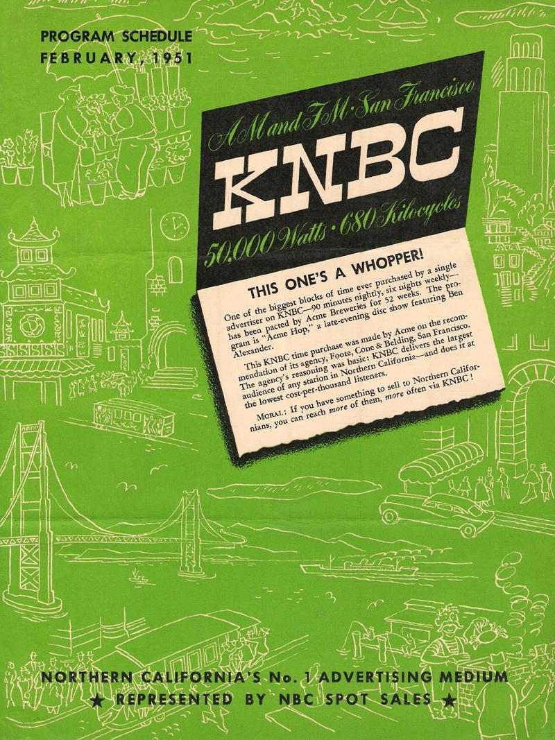 knbc_prog-sched_feb-1951_a