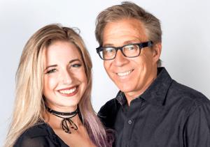 Brian Sussman and Katie Green (KSFO Photo