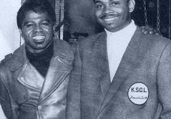 James Brown and Johnny Morris (Photo)