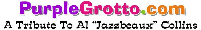 Al Jazzbo Collins Purple Grotto (Logo)