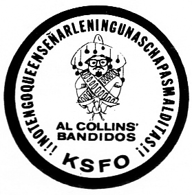 KSFO Al Collins Bandidos (Image)