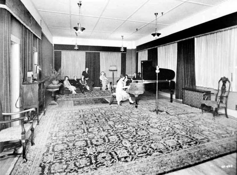 KGO Studio (Circa 1920s Photo)