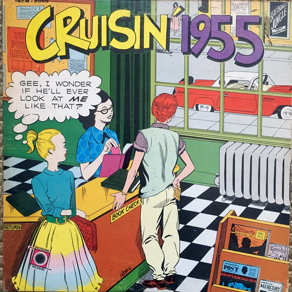 Cruisin' 55 (George Oxford KSAN 1450) LP Cover