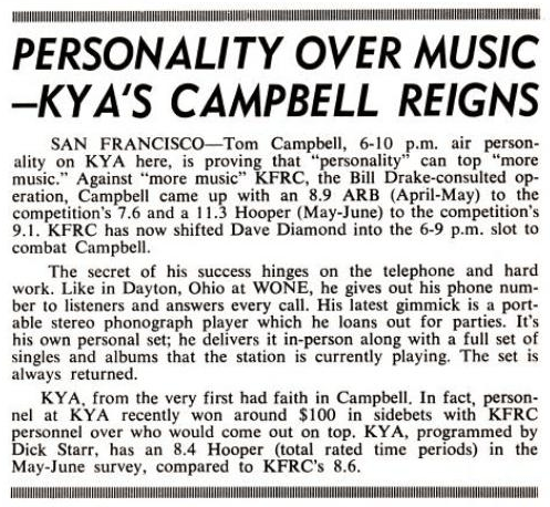 Tom Campbell KYA Article (Image)