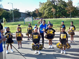 Lady Spartan Cheer  BAY AREA SPARTANS YOUTH FOOTBALL AND
