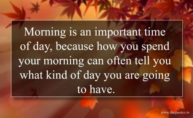 Quotes for good day