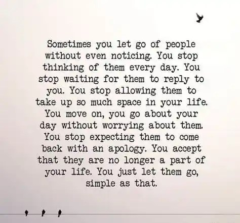 quotes on letting go