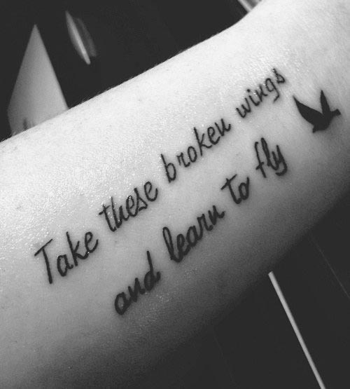 101 Best Meaningful Quotes For Tattoos Selected For You Bayart