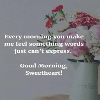 good morning romantic quotes