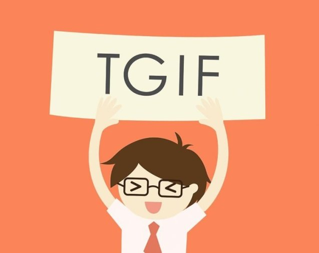 Tgif Quotes Extraordinary 48 Funny Happy Friday Quotes To Explode Your Energy BayArt