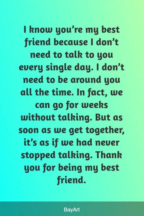 best friend paragraph