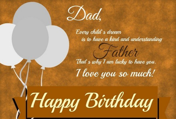 Quotes On Father Birthday By Daughter Inspiring Quotes