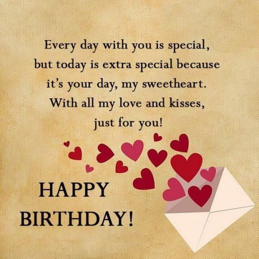 Birthday Love Quotes Impressive 48 Unique Happy Birthday My Love Quotes Romantic Wishes BayArt