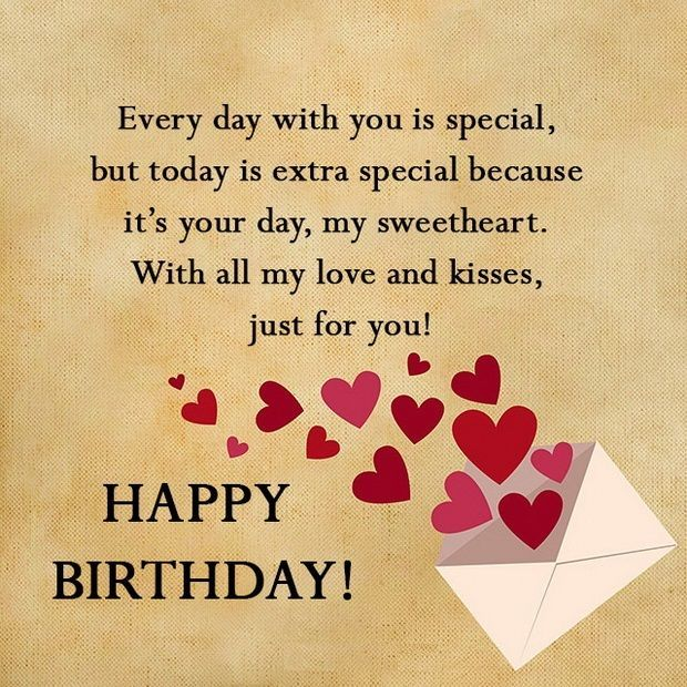 List Of Best Happy Birthday Sweetheart Quotes With Images For Him
