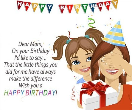 happy birthday mommy