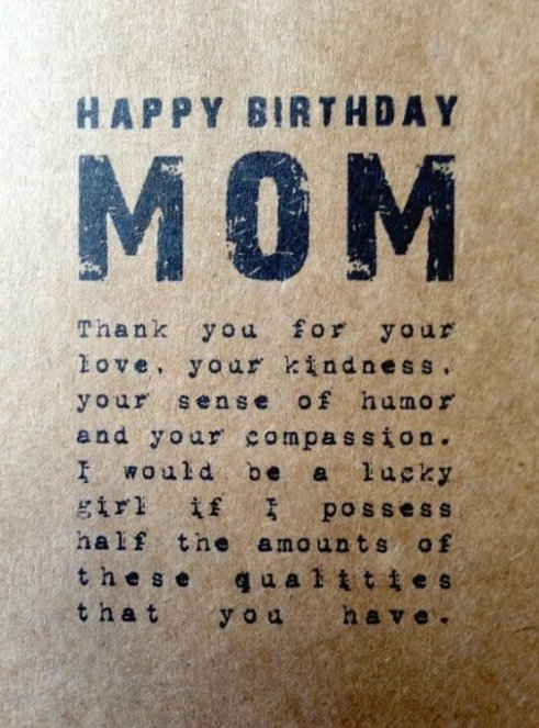 150 Unique Happy Birthday Mom Quotes Wishes With Images