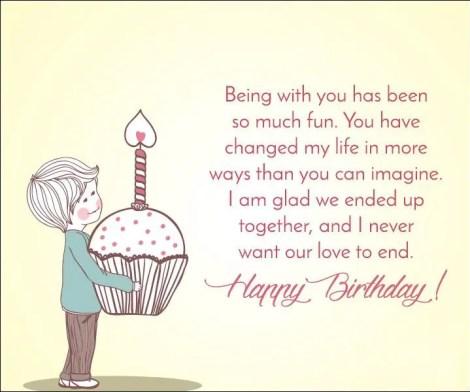 happy birthday to my girlfriend