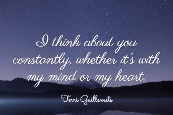 150 Touching Thinking Of You Quotes That Insanely Creative Bayart