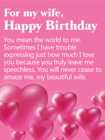 158 Unique Heartwarming Happy Birthday Wife Wishes Quotes Bayart