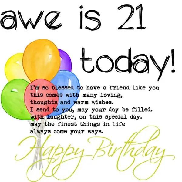 114 excellent happy 21st