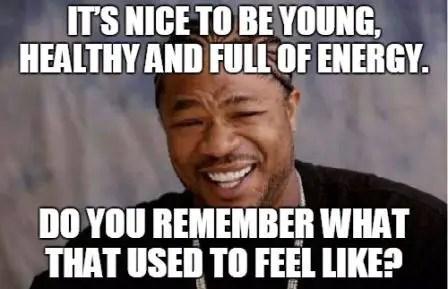 40th birthday meme