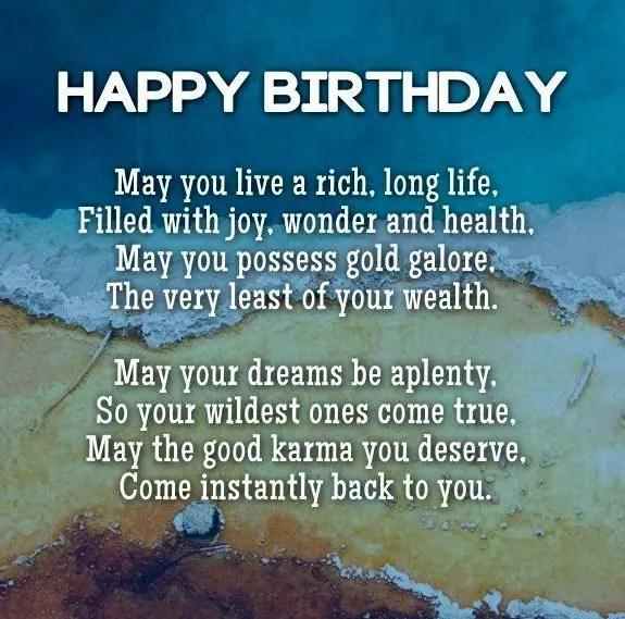 158 legendary birthday wishes