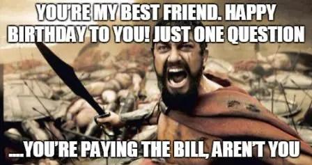 Happy Birthday Best Friend Funny Meme : Extremely creative funny happy birthday memes bayart