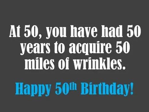 87 wonderful happy 50th