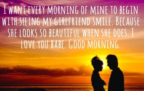 cute morning quotes for her