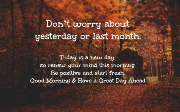 Top Positive Quotes Today Is A New Day Good Quotes